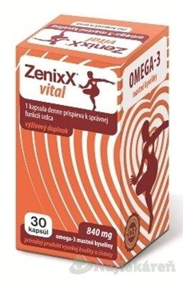 ZenixX VITAL, 30 ks - Zenixx Vital 30 kapsúl