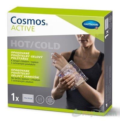 Cosmos ACTIVE Opakovane použiteľný gélový vankúšik hot/cold 13x14 cm 1 ks - Hartmann