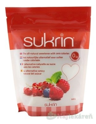 sukrin - Sukrin práškové sladidlo 500 g
