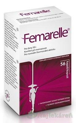 Femarelle výživový doplnok 56ks - Femarelle Recharge 50+ 56 kapsúl