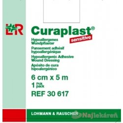 CURAPLAST Sensitive 6cmx5m