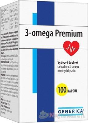 GENERICA 3-omega Premium - Generica 3-omega Premium 100 kapsúl