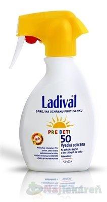 LADIVAL Children SPREJ SPF 50 na ochranu proti slnku pre deti 1x200 ml