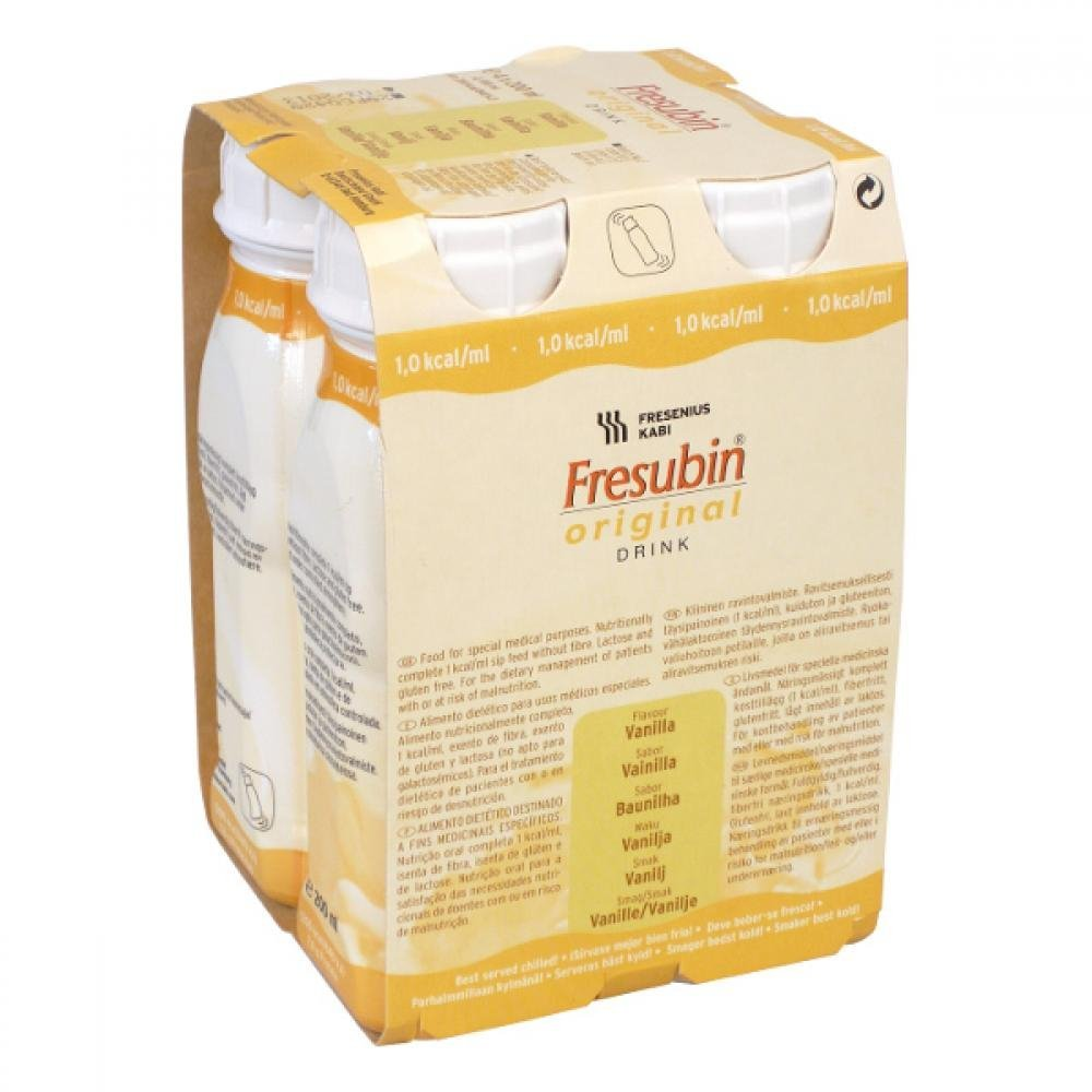 Fresubin 2 0 kcal ml Drink príchuť vanilková 4 x 200 ml