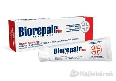 Biorepair Plus Sensitivity Control pasta pre citlivé zuby 75 ml