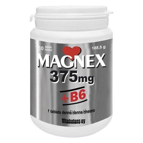 Vitabalans Magnex + B6 375mg 30 tabliet