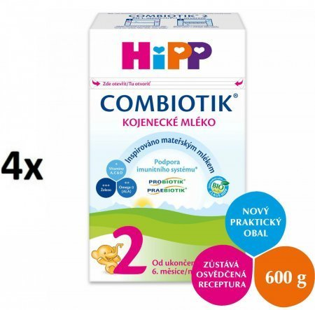 HiPP 2 BIO Combiotic 4x600g