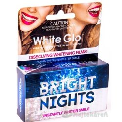 WHITE GLO BRIGHT NIGHTS Bieliaci film