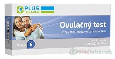 Plus Lekaren ovulačný test 6 ks