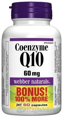 Webber Naturals Koenzým Q10 60 mg
