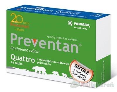 Farmax Preventan quattro vitamin C 24 tbl.