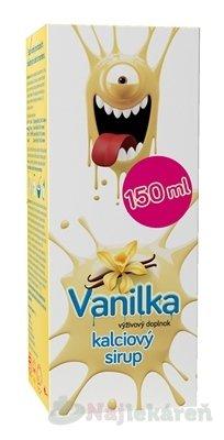 Vulm Kalciový sirup Vanilka 150 ml