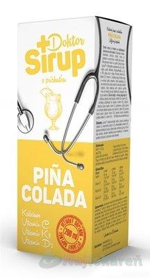 Doktor Sirup PINA COLADA kalciový sirup 200 ml