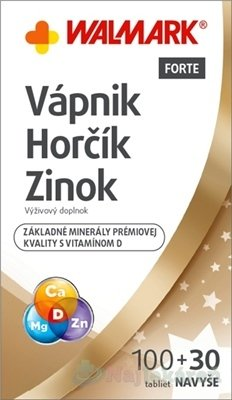 WALMARK Vápnik Horčík Zinok s vitamínom D