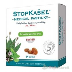 STOPKAŠEĽ Medical PASTILKY - Dr.Weiss