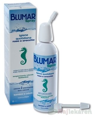 BLUMAR Spray - Blumar sprej izotonický roztok na hygienu nosa a uší sprej 100 ml