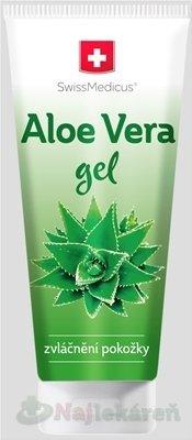 SwissMedicus Aloe vera gél na upokojenie pokožky 200ml