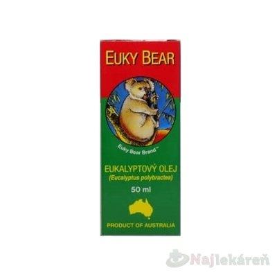 Euky Bear eukalyptový olej 50 ml