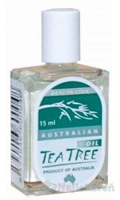 Health Link TEA TREE OIL starostlivosť o pokožku 15ml - Tea Tree oil 15 ml