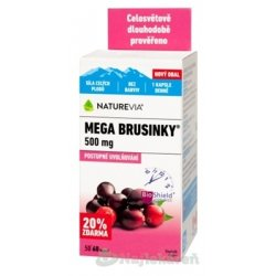 SWISS NATUREVIA MEGA BRUSNICE 500 mg