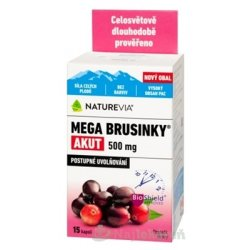 SWISS NATUREVIA MEGA BRUSNICE AKUT 500 mg