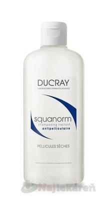 Ducray Squanorm šampón proti suchým lupinám (Anti-Dandruff treatment shampoo - dry dandruff) 200 ml