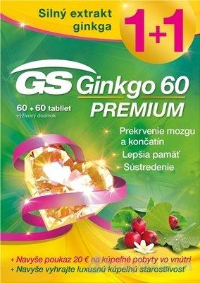 Green Swan Ginkgo 60 Premium 60+60 tbl. darček 2018