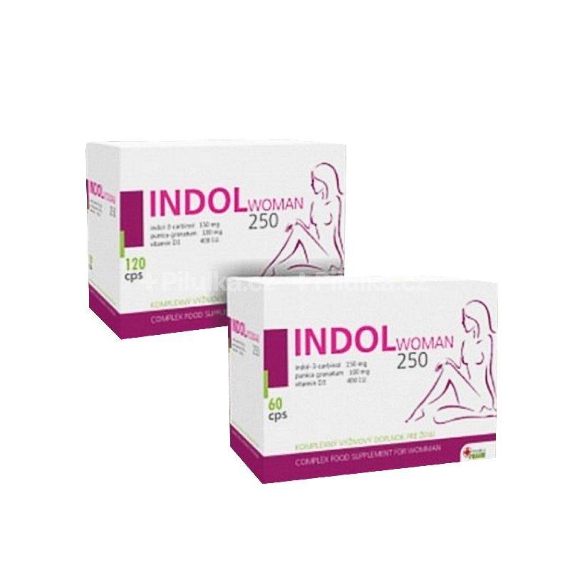 INDOL WOMAN 250 AKCIA set - INDOL WOMAN 250 cps pre ženy 180 ks