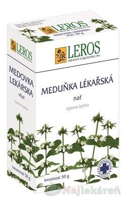 LEROS MEDOVKA LEKÁRSKA vňať - LEROS Meduňka lékařská nať 50 g