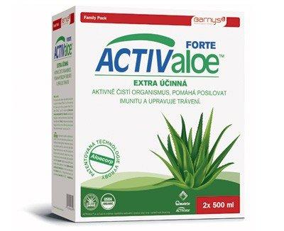 BARNY'S Activ aloe vera 2 x 500 ml