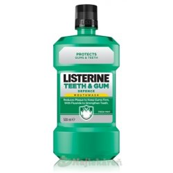LISTERINE TEETH & GUM DEFENCE Fresh mint