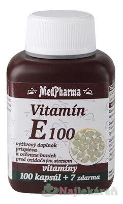 MedPharma Vitamín E 100mg + Selén 107 tabliet