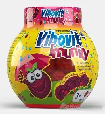 VIBOVIT + IMUNITY - Vibovit + Immunity želé s príchuťou bazy čiernej 50 ks