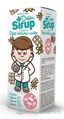 Doktor Sirup kalciový sirup, 100 ml - Natures Doktor Sirup kalciový sirup s príchuťou Bielej čokolády a vanilky 100 ml