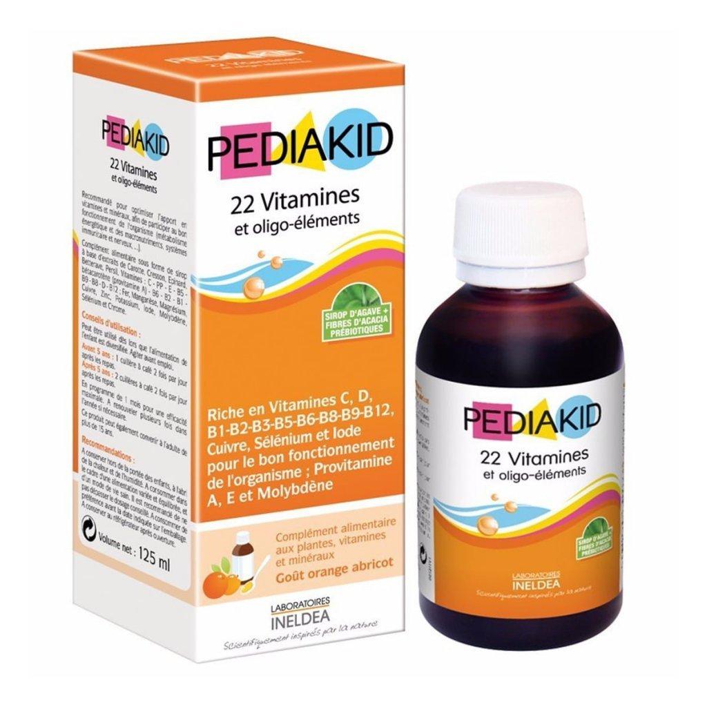 PEDIAKID 22 Vitaminov