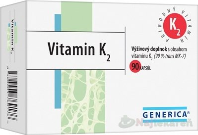 Generica Vitamin K2 cps 90