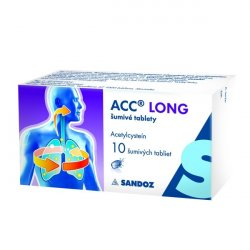 ACC LONG 10 x 600 mg eff