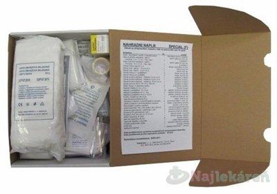 Panacea NÁPLŇ do nástennej lekárničky ŠPECIAL F v papierovej kartónovej krabici 1 ks