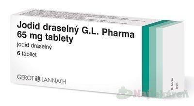 Jodid draselný G.L. Pharma 65 mg tablety tbl. 6 x 65 mg