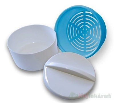 Dentálna dóza OBZOR bielo-modrá 1ks - Obzor dentálna dóza bielo modrá 1 ks