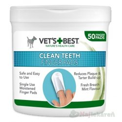 VET´S BEST CLEAN TEATH FINGER PADS