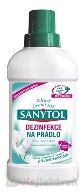 Sanytol Na prádlo dezinfekce na prádlo a pračky 500 ml