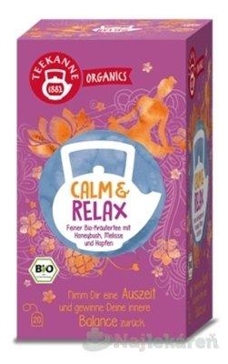 TEEKANNE ORGANICS BIO CALM & RELAX bylinný čaj 20 x 1,8 g