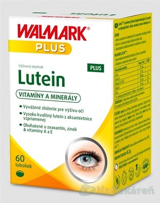 WALMARK Lutein PLUS - Walmark Lutein PLUS 60 tabliet