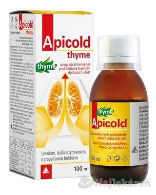 Apicold thyme sirup
