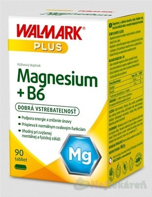 WALMARK Magnesium + B6 - Walmark Magnesium + B6 tbl.90