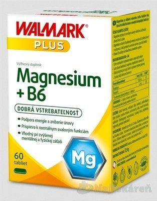 WALMARK Magnesium + B6 - Walmark Magnesium B6 60 tabliet