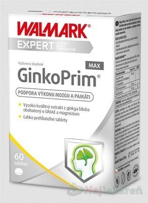 WALMARK GinkoPrim MAX (inov. obal 2019) 60 ks - Walmark GinkoPrim Max 30 tabliet