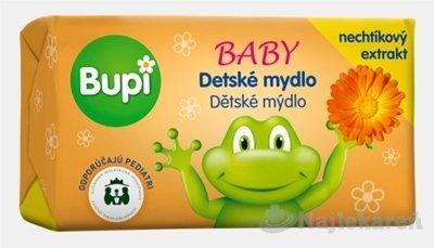 Bupi BABY Tuhé mydlo s nechtíkovým extraktom 100g - BUPI detské mydlo s nechtíkovým extraktom 100 g