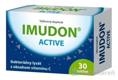 IMUDON ACTIVE (Pharmaceutical Biotechnology) - Imudon Active 30 tabliet